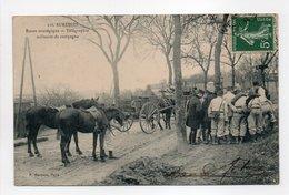 - CPA SURESNES (92) - Route Stratégique - Télégraphie Militaire De Campagne (belle Animation) - Edition Marmuse 118 - - Suresnes