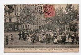 - CPA SAINT-DENIS (93) - Place Parmentier Un Jeudi 1905 - Angle Des Rues Raspail, Genin Et Lorget (belle Animation) - - Saint Denis