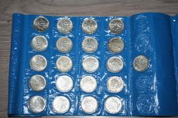 Lot De 21 Pièces De 5 Francs Semeuse - J. 5 Francs