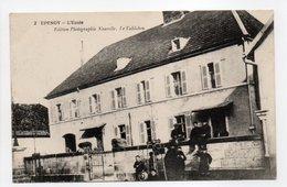 - CPA EPENOY (25) - L'Ecole (avec Personnages) - Edition Photographie Nouvelle N° 2 - - France
