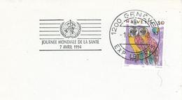 Weltgesundheitstag 1994 Genf Eule - Medizin