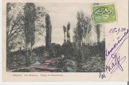 TURQUIE - IZMIR - SMYRNE. CPA  Voyagée En 1904 Les Alentours Village De Bounarbachi - Turquie