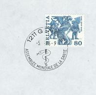 Weltgesundheitstag 1986 Genf Vogel Gryff Basel - Medizin
