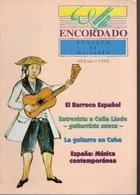 Revue De Musique - Encordado Revista De Guitarra - N° 2 - 1992 El Barroco Espagnol - Revues & Journaux