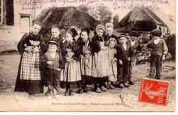 Morbihan : Faouet-Priziac : Enfants Sortant De L'école - Faouët
