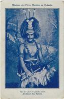 Oceanie  Samoa  Fils De Chef En Grande Tenue - Samoa