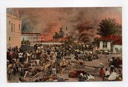- CPA SALONIQUE (Grèce) - La Ville En Feu (incendie D'Août 1917) - - Griekenland