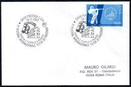 CHESS - ITALIA PIACENZA 2007 - 3° FESTIVAL INTERNAZIONALE CITTA' DI PIACENZA - SCACCHI E FILATELIA A PALAZZO - Scacchi