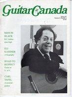 Revue De Musique -  Guitar Canada N° 4 Man In Black - Magazines & Newspapers