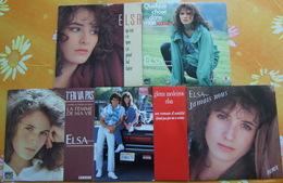 ELSA - Cinq 45 Tours - Vinyles