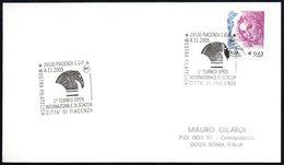 CHESS - ITALIA PIACENZA 2005 - 1° TORNEO OPEN INTERNAZIONALE DI SCACCHI CITTA' DI PIACENZA - CARD - Scacchi