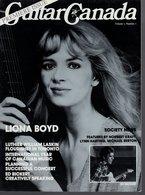 Revue De Musique -  Guitar Canada N° 1 - Liona Boyd - Magazines & Newspapers