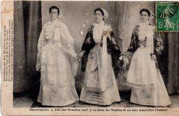 Finistère : Douarnenez : Fête Des Mouettes 1928 : La Reine - Douarnenez