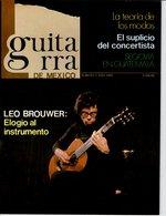 Revue De Musique -  Guitarra De Mexico - N° 1 - Leo Brouwer - Revues & Journaux