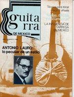 Revue De Musique -  Guitarra De Mexico - N° 2 - Antonio Lauro - Revues & Journaux