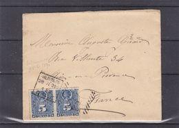 Chili- Petite Lettre De 1890 - Oblit Valparaiso - Exp Vers Aix En Provence - - Chili