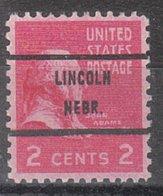 USA Precancel Vorausentwertung Preo, Bureau Nebraska, Lincoln 806-71 - Vereinigte Staaten