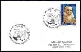 CHESS - ITALIA MARTINA FRANCA (TA) 2007 - 67° CAMPIONATO ITALIANO ASSOLUTO DI SCACCHI - SMALL SIZE CARD - Scacchi