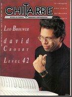Revue De Musique -  Chitarre N° 37 - Leo Brouwer David Crosby Level 42 - Musique