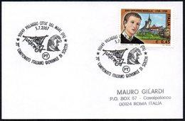 CHESS - ITALIA VILLAGGIO CITTA' DEL MARE (PA) 2007 - 20° CAMPIONATO ITALIANO GIOVANILE DI SCACCHI -SMALL SIZE CARD - Scacchi