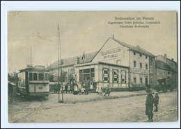 XX008301-5160/ Gressenich Restauration Im Pannes Kleinbahn Straßenbahn 1916 AK - Deutschland
