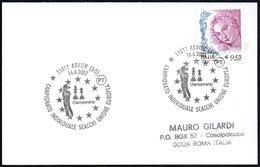 CHESS - ITALIA ARVIER (AO) 2007 - CAMPIONATO INDIVIDUALE SCACCHI UNIONE EUROPEA - SMALL SIZE CARD - Scacchi