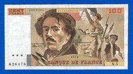 100 Fr  1978    N5 - 1962-1997 ''Francs''