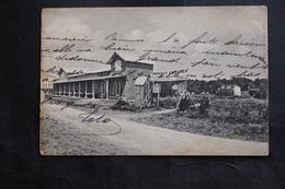CPA 17 ENVIRONS DE ROYAN TRAMWAY FORESTIER LA GRANDE COTE ECRITE DATEE 1906 EDIT BRAUN - Royan