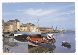 29 Ile De Sein N°20183 Port Et Bateau De Pêche Courrier L'ENEZ SUN II De L'Ile De Sein En 1976 Edit Jean Audierne - Ile De Sein
