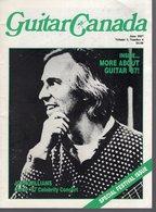Revue De Musique -  Guitar Canada N° 4 - 1987 John Williams - Magazines & Newspapers
