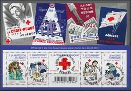 France - Croix-Rouge 2010 / Le Feuillet YT F4520 Obl. Cachet Rond Manuel - Blocs & Feuillets