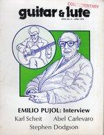 Revue De Musique -  Guitar & Lute N° 9 Emilio Pujol - Musique