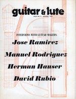 Revue De Musique -  Guitar & Lute N° 8 Jose Ramirez - Musique