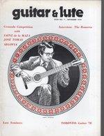 Revue De Musique -  Guitar & Lute N° 7 Pepe Romero - Musique