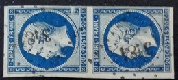 311- 14A- Paire- PC 3484 Vannes Morbihan 54 - 1853-1860 Napoléon III