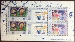 New Zealand 1986 Health Stamps Minisheet MNH - New Zealand