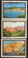 PIA - ITALIA - 2003 : Turistica : Lanciano - Procida - Sestri Levante  - (SAS 2681-83) - 2001-10: Mint/hinged