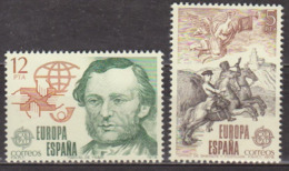 Europa - ESPAGNE - Manuel De Ysasi, Postillon à Cheval - N° 2166-2167 ** - 1979 - 1931-Oggi: 2. Rep. - ... Juan Carlos I