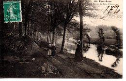 Finistère : Pont Aven : L'entrée Du Bois D'Amour - Pont Aven