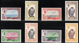 1963 Dubai Peregrine Falcon Set (**/ MNH / UMM) - Aigles & Rapaces Diurnes