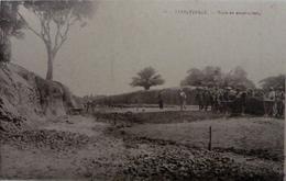 Stanleyville : Route En Construction - Congo Belge - Autres