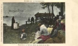 D 3346 - Musée  Du Luxembourg N °19  Edelfelt    Service Divin Au Bord De La Mer      Publicité  Chocolat - Vinay - Museen