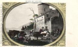 D 3348 - Musée  Du Louvre  N° 21  Jan Meel   La Dinée Des Voyageurs      Publicité  Chocolat - Vinay - Museen
