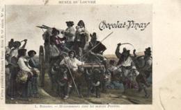 D 3349 - Musée  Du Louvre  N° 20   L.Robert   Moissonneurs  Dans Les Marais Pontins     Publicité  Chocolat - Vinay - Museen