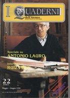 Revue De Musique -  L Quaderni Dell Ateneo Di  Chitarra - N° 22 - Antonio Lauro - Musique