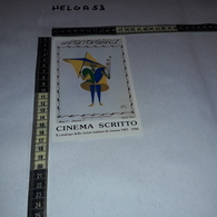 CT1841 PUBBLICITA' ASS. ITALIANA PER LE RICERCHE DI STORIA DEL CINEMA ROMA ILLUSTRATA DEPERO - Publicidad