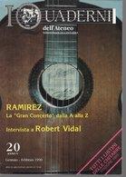 Revue De Musique -  L Quaderni Dell Ateneo Di  Chitarra - N° 20 Ramirez Robert Vidal - Musique