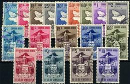 Venezuela (Aéreos) Nº 456/71. Año 1953. - Venezuela