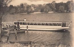 AK - Senzig - Motorschiff FRIEDEL - Reederei Fritz Paulick - 1963 - Wusterhausen