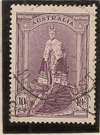 AUSTRALIE 1937 5  S/  10 S/ ET ONE POUND+ - 1937-52 George VI
